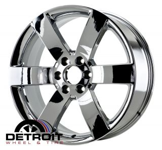 GMC Envoy Trailblazer 2006 2008 PVD Bright Chrome Wheels Rims