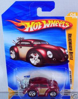 Hot Wheels Volkswagen Beetle 2010 New Models