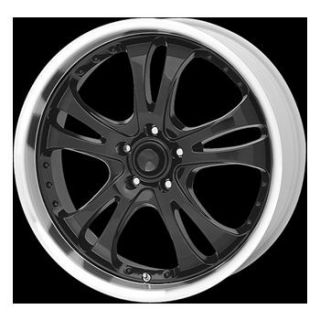 AR Perform Casino Black Rims Ford Chevy Muscle Classic 18x8