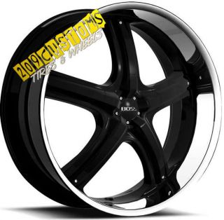 Wheels 333 Black Tires Rims 5x115 Dodge Magnum 2006 2007 2008
