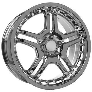 chrome AMG Mercedes C CL 2010 CLK CLS GL GLK ML E S SL SLK wheels rims