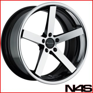 FORD MUSTANG GIOVANNA LIGHTWEIGHT MECCA STAGGERED CONCAVE WHEELS RIMS