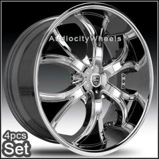 22inch Rims Wheels Chevy Ford RAM Lexani Escalade