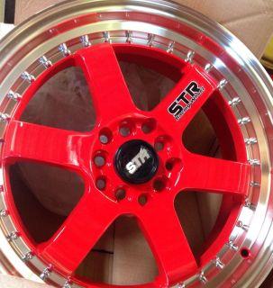 Wheels 4x114 3 4x100 Integra Miata Yaris Civic Accord Scion 4 Lug Rims