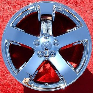 NEW DODGE CHALLENGER 18 OEM CHROME WHEELS RIMS CHARGER EXCHANGE 2359