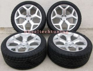 x5 3 0 4 4 4 8 and x6 Staggered Wheels and Tires Style 214 Rims