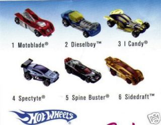 McDonalds 2008 Hot Wheels Happy Meal Toys