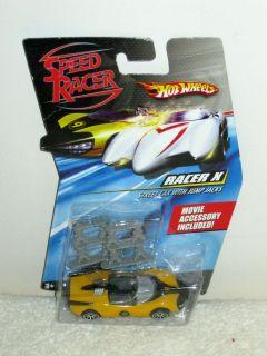 Wheels Speed Racer Racer X Street Car with Jump Jacks Hot Wheels 2007