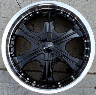 Roxx Basalt 303 20 Black Rims Wheels Ford Ranger 20 x 8 5 5H 15