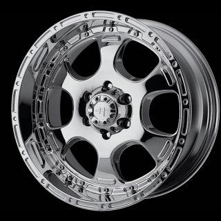 HE842 Chrome 6X5 5 Escalade Silverado Armada Wheels Rims Free Lugs