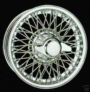 Chrome Dayton Wire Wire Wheels MG TD TF MGA The Best