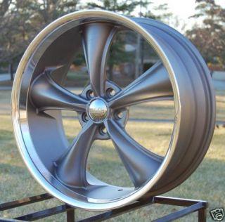 JD Wheels Boss 338 Rims 18x8 18x9 5 Fits Ford Mustang Galaxie Fairlane