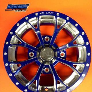 No Limit Wheels for Polaris Ranger RZR 400 500 570 800 XP 14 Custom