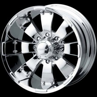 HULK 755 CHROME YUKON AVALANCHE GMC TUNDRA TAHOE ESCALADE WHEELS RIMS