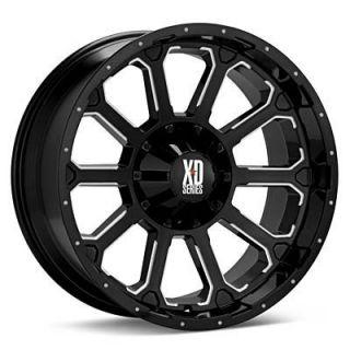 XD Black Wheels Rims 6x5 5 6x139 7 Titan Xterra 4 Runner Rodeo