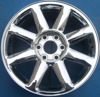 10 11 GMC YUKON XL SIERRA DENALI 1500 PICKUP 20 OEM CHROME WHEEL RIM
