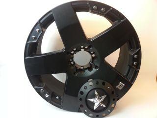 22 inch XD Series XD775 Rockstar Black Rims Rim Dubs Bling 22 x 12