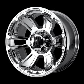 XD Revolver 18x9 Chrome Wheels Rims 6 8 Lug 18 New