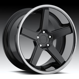 20 inch Niche Nurburg Black Wheels Rims Staggered 5x4 5 5x114 3 Shelby