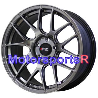 XXR 530 Chromium Black Concave Wheels Rims 08 11 12 Nissan Altima SE