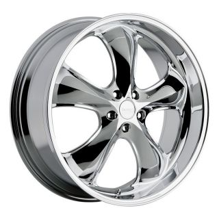 20 inch Incubus Shylock Chrome Wheels Rims 5x120 35 Chevy Camaro