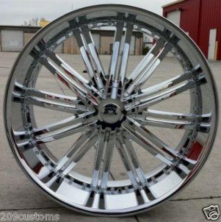 28 inch Wheels Rims Tire Dodge RAM Durango Aspen 5x139 7