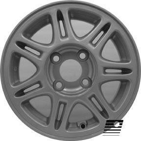 Refinished Nissan Sentra 1995 1999 13 inch Wheel Rim