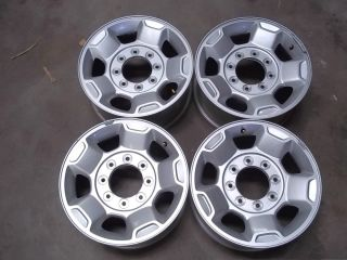 Set 10 12 Ford F250 F350 Superduty Pickup 17x7 5 OEM Alloy Wheels Rims