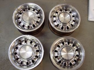 Original Ford Mustang GT Chrome Styled Wheels Torino GT 14x 6