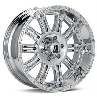 20 inch XD Hoss Chrome Wheels Rims 6x135 Ford F150 12