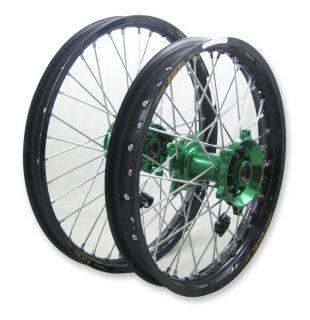 Kawasaki MX Wheels KX450F 06 13 Set TCR Hubs Excel Rims New