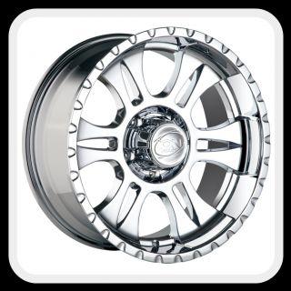 ION 195 Wheels Rims 18x9, fits SILVERADO SIERRA TAHOE YUKON ESCALADE