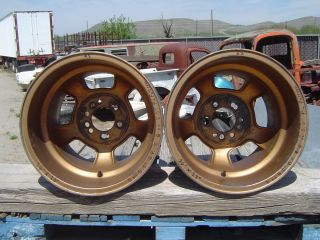 16 x 13 HALIBRAND MAGNESIUM SPRINT WHEELS GASSER FUNNYCAR RAT ROD HOT