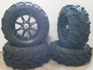 MSA Diesel 14 ATV UTV Wheels 27 EFX Motomax Tires Arctic Cat Wild