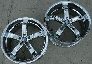 Beyern Five 5 19 Chrome Rims Wheels E39 E60 5 Series