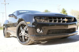 22 inch Staggered 10 Camaro SS Lexani Black Rims Tires