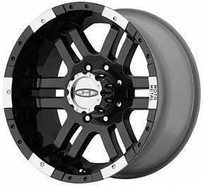 Inch 6 Lug 6x5 5 Moto Metal BLACK RIMS Wheels Avalanche Sierra Truck