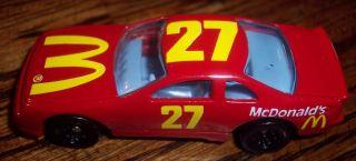 Diecast Hot Wheels 3Car Thunderbird 1993 Mettel Advertizement 27