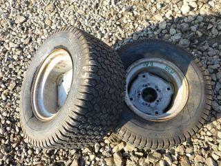 Allis 1920 Ultima Tractor Carlisle 23x10 50 12 Rear Tires Rims