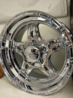 Polished Raceline Renegade 5 Wheels Dodge Ram 1500 Dakota 5x5 5 Rims
