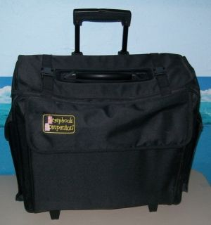 Companion Rolling Tote on Wheels Organizer w Telescoping Handle