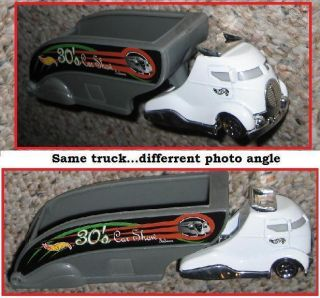 Pavement Pounder Hot Wheels 30s Car Show Truck N Trailer