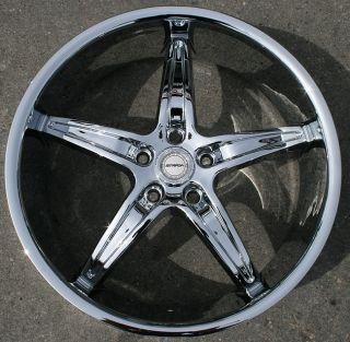 Strada Riga 20 Chrome Rims Wheels Nissan Altima