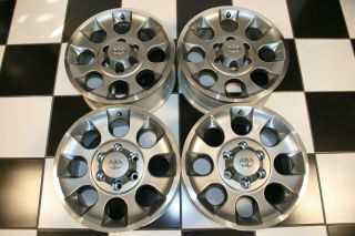 FJ Cruiser Dark Silver 17 Factory Wheels Rims 69579 Set of 4