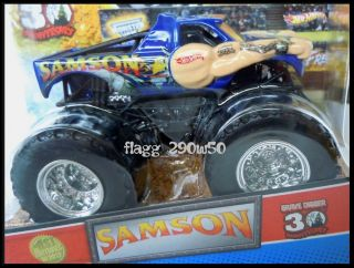 Hot Wheels Monster Truck Samson 30th Anniversary 1st Editions