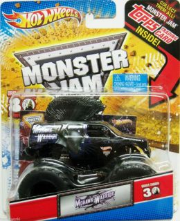 MOHAWK WARRIOR Hot Wheels 2012 Monster Jam GRAVE DIGGER 30th