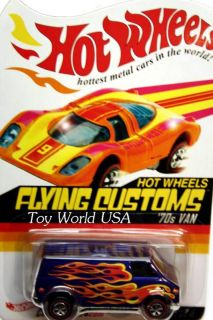 Hot Wheels RLC Flying Customs 4 70s Van