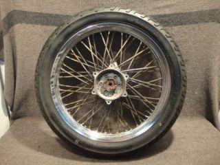 85 Suzuki GV1200 GV 1200 Madura Wheel Front Rim Tire C27