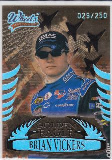 2004 Wheels American Thunder Golden Eagle GE10 Brian Vickers D 29 250