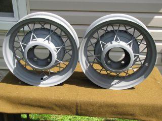 1933 1934 Ford 32 Spoke Wire Wheels Rims 30 31 32 33 34 35 36 Model A